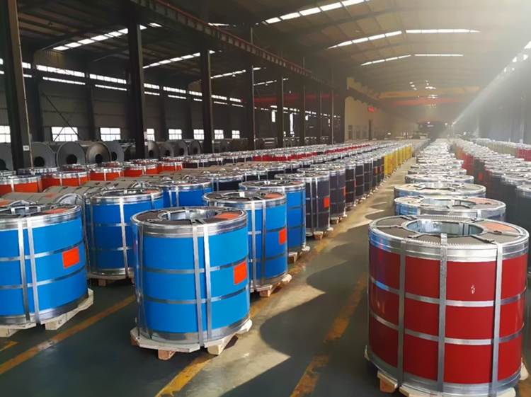 high quality PPGI color coated coil pre painted galvanized steel coil