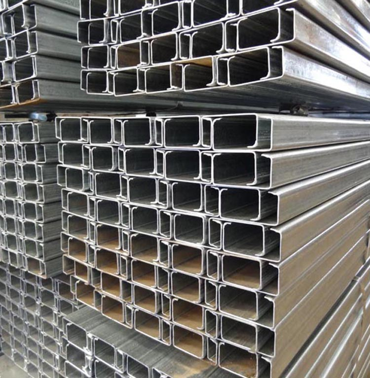 Galvanized Structural Steel C Channel 1.8mm Thickness With Good Quality
