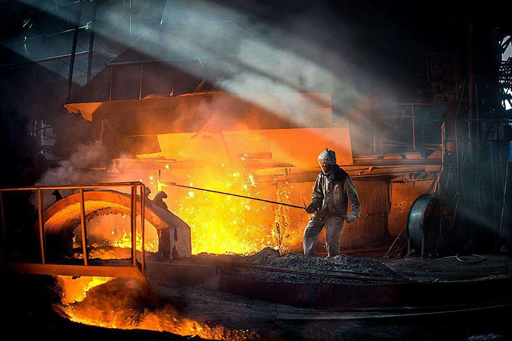 China steel mill makes world's largest seamless forging piece