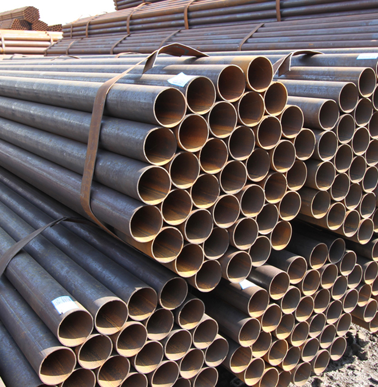 Chinese factory hot rolled steel round pipe for scaffolding