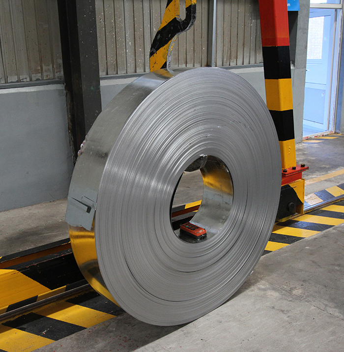 Coating Galvanized Steel Strip