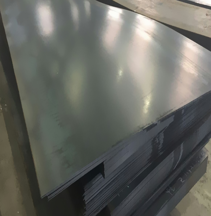 Plastic Deformation Of Cold Rolled Steel Sheet