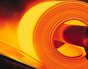 hot rolled steel strips in producing