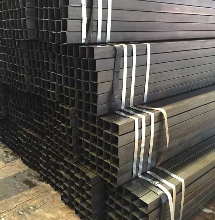 Q195 0.8mm Thickness Cold Rolled Black Steel Square Tube