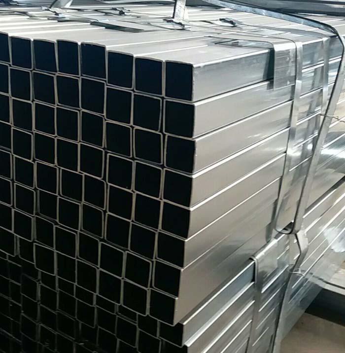 25x25mm Pre Galvanized Square Steel Tube