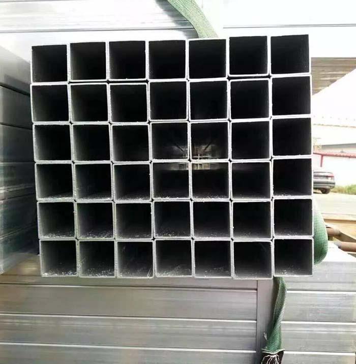 Q195 Wholesale Pre-Galvanized Steel Square Tube For Construction