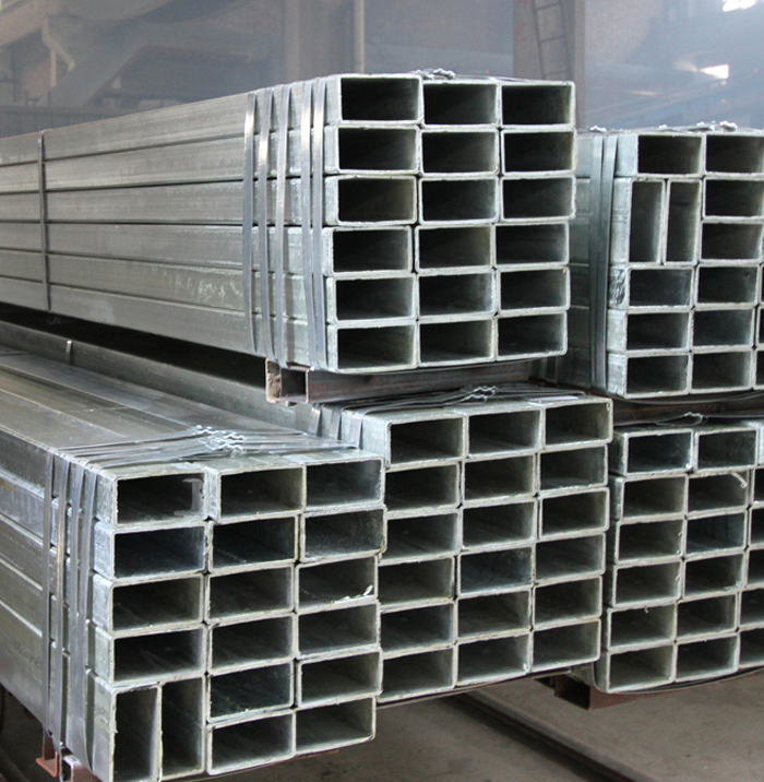 Chinese Factory Directly 50x100x0.8mm Pre-Galvanized Steel Rectangular Tube