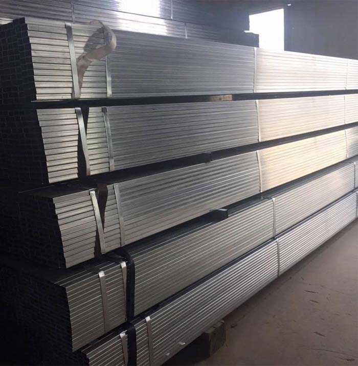 50x50mm hot rolled steel square hollow section pipes with good quality