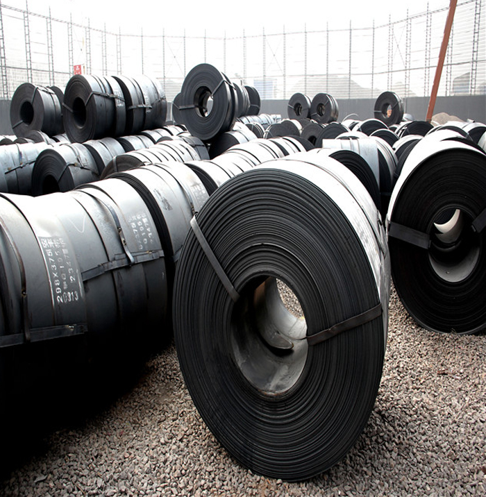 High quality hot rolled black steel strips in Steel Sheets