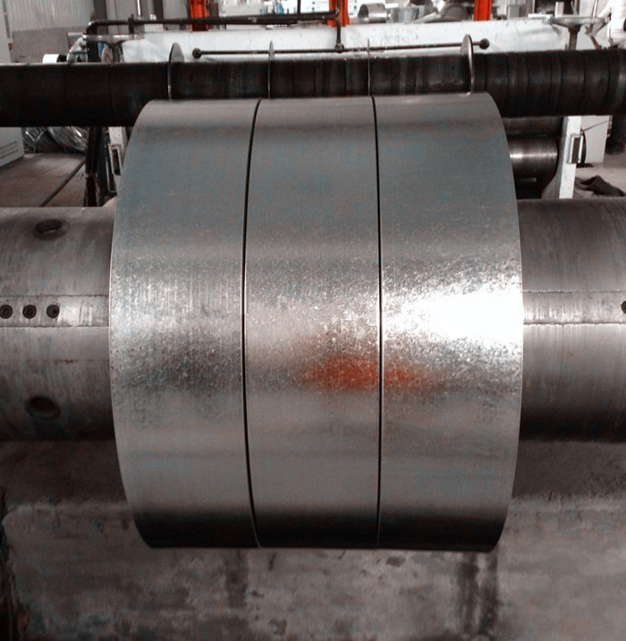 galvanized sheet metal strips for channel and pipes material