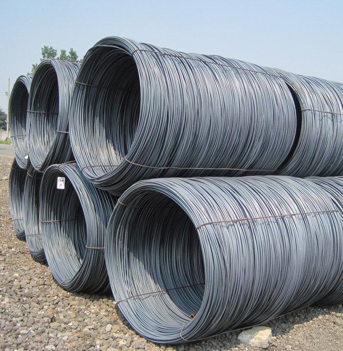SAE1008 Low Carbon Steel Wire Rod 5.5mm Sizes For Wire Mesh