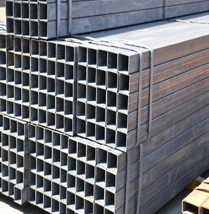 MS Weld Low Carbon Hot Rolled Black Steel Square Tube