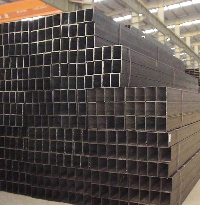 Q195 Hot Rolled Black Square Steel Tube China Factory Price