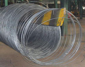 low carbon steel hot rolling wire rod production process