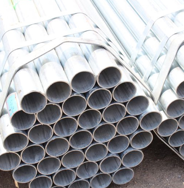 High Quality Hot Dipped Galvanized Round Steel Pipe For Building Material