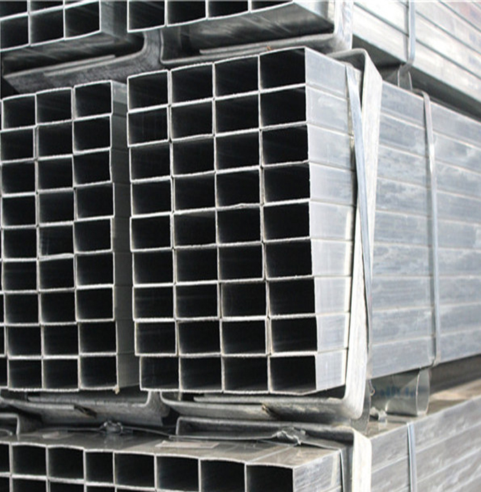 Pre-Galvanized Steel Rectangular Tube For Construction