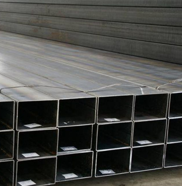 Top Quality Cold Rolled Black Steel Rectangular Tube Steel Hollow Section
