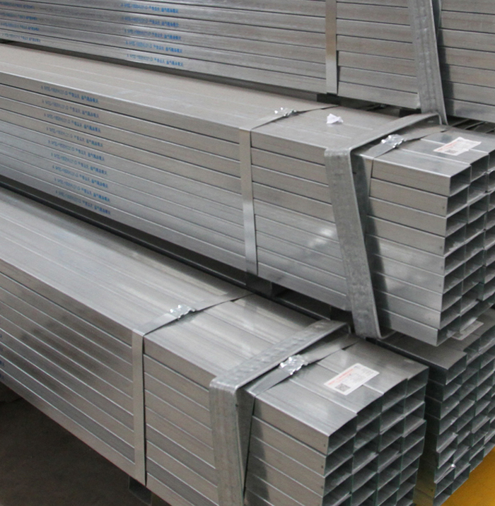 Top Quality Pre-Galvanized Steel Rectangular Pipe Hollow Section