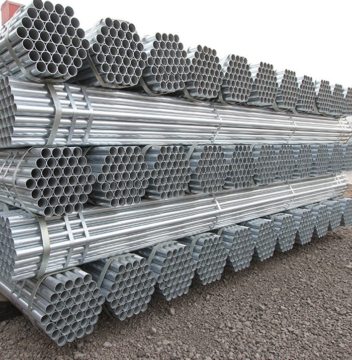 Best Selling Hot Dipped Galvanized Steel Round Pipe With Good Quality