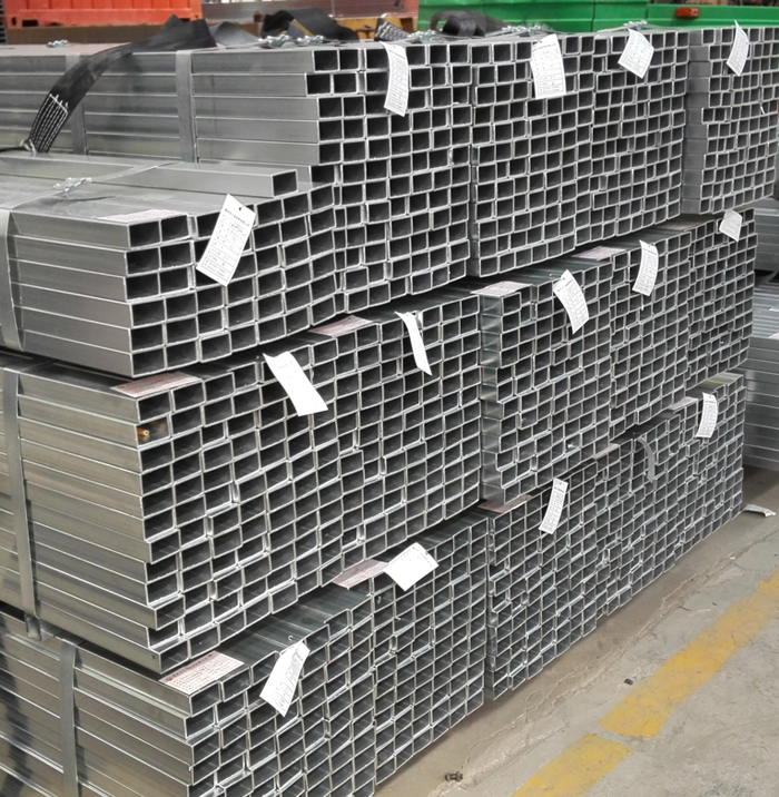 Standard Sizes Pre-Galvanized Steel Rectangular Steel Tube Hollow Section