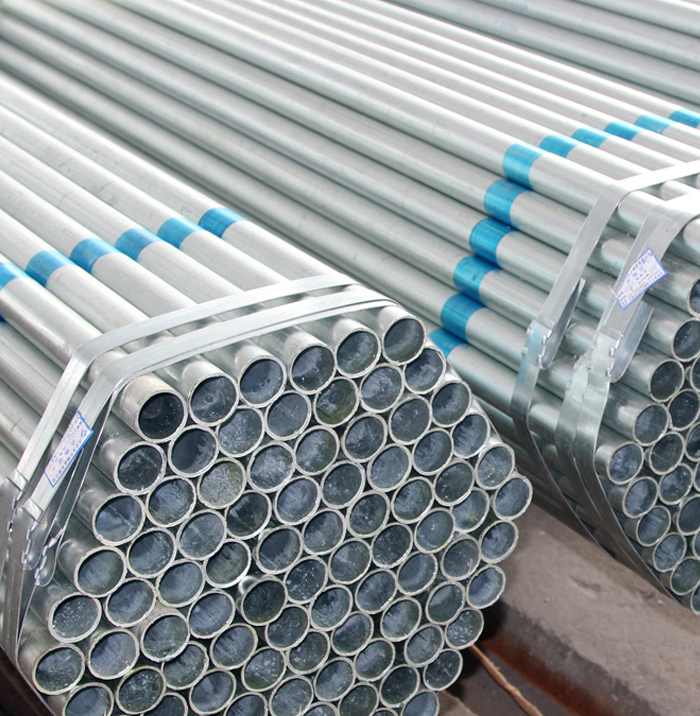 Top Quality Q195 Material Hot Dipped Galvanized Steel Round Pipe