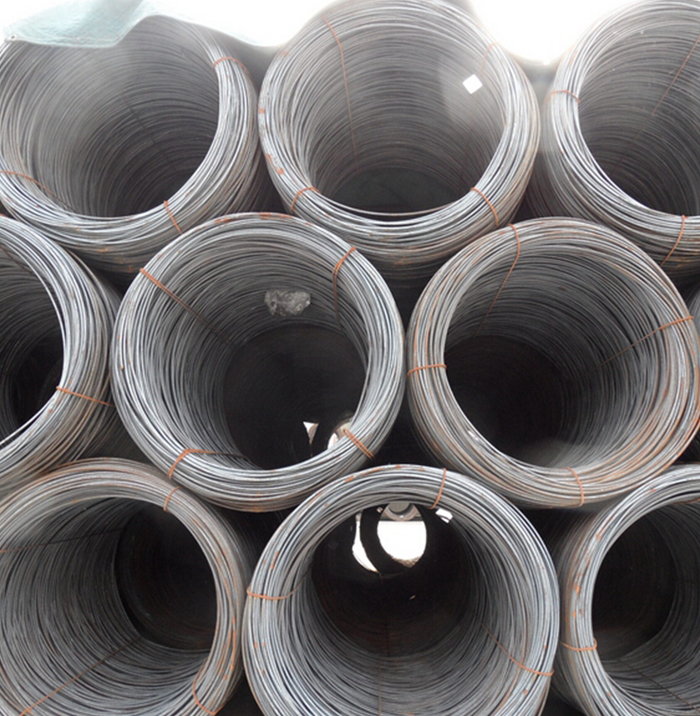 MS Low Carbon Hot Rolled Steel Wire Rod 5.5mm Q195 Material From Rolling Mill