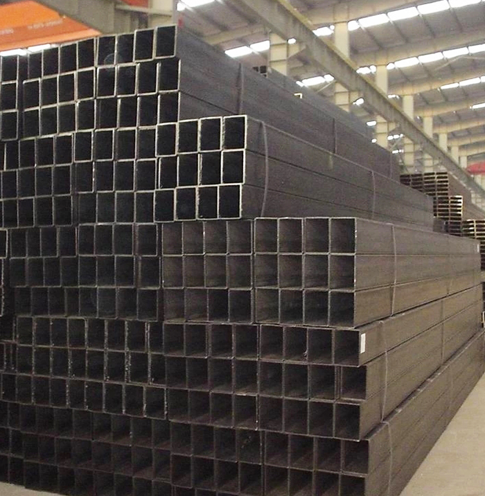 High Quality Construction Material Cold Rolled Black Steel Square Tube