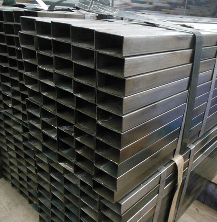 Low Carbon Cold Rolled Black Annealed Rectangular Steel Tube