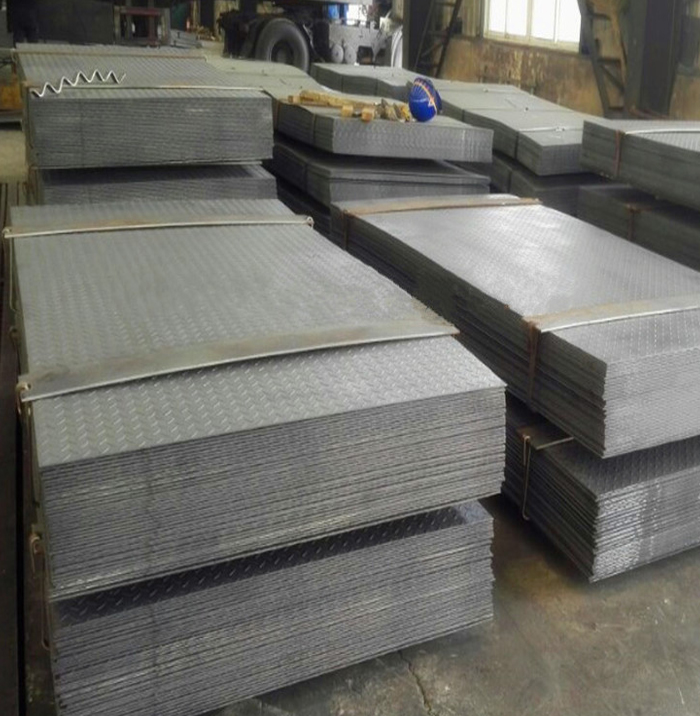 top quality hot rolled ms chequered plate thickness 2.0mm with different weight