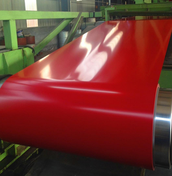High strength bright color pre painted galvanized steel coil from chinese manufacturers