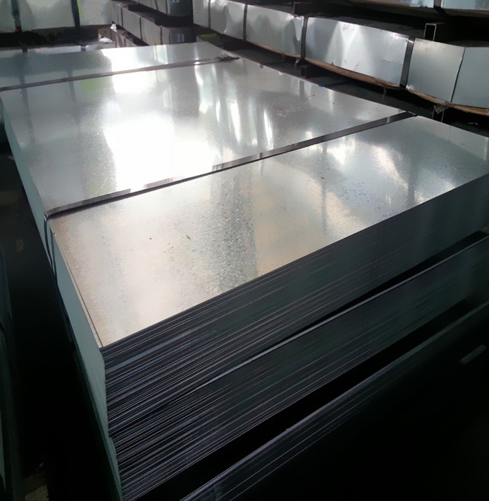 Widely used quality galvanized steel sheet metal with standard sheet size