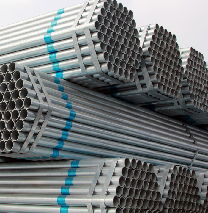 Pre-Galvanized Steel Round Pipe Building Material For Scaffolding