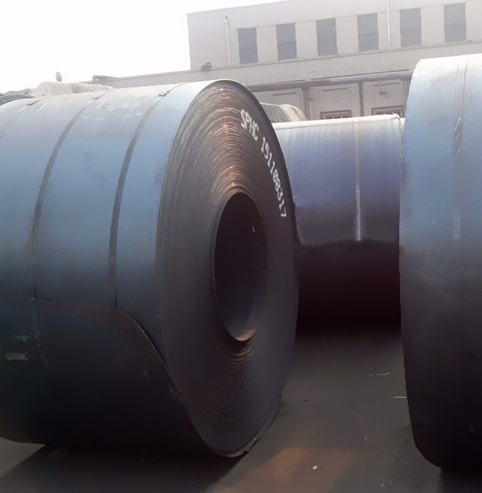 High quality Q235 black hot rolled steel coil standard size with best price