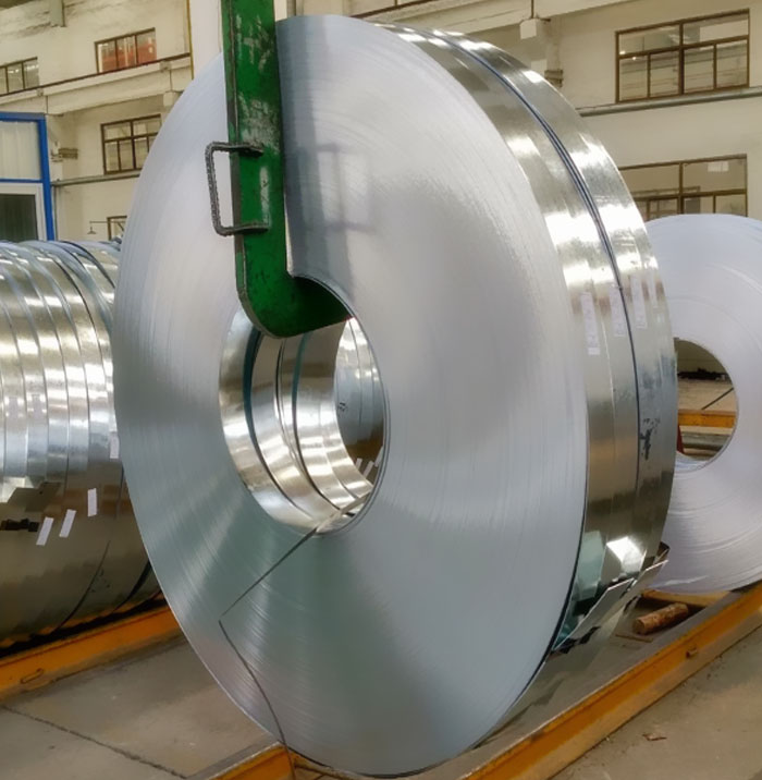 factory galvanized steel strip roll for steel pipes and profiles making