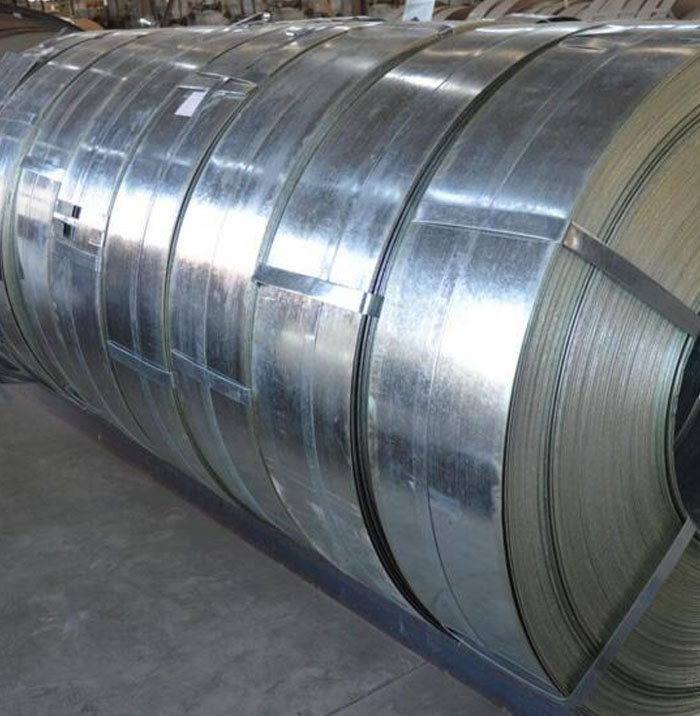 12.25cm galvanized steel strip coil 0.6mm 0.7mm thickness for shutter doors