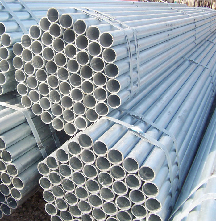 ASTM A53 hot-dip galvanized steel pipe for fence post 0.8mm-25mm