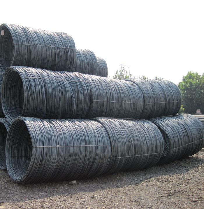 hot rolled steel wire rod in coils Q195 Q235 SAE 1006 SAE 1008 5.5mm 6.5mm Low Carbon