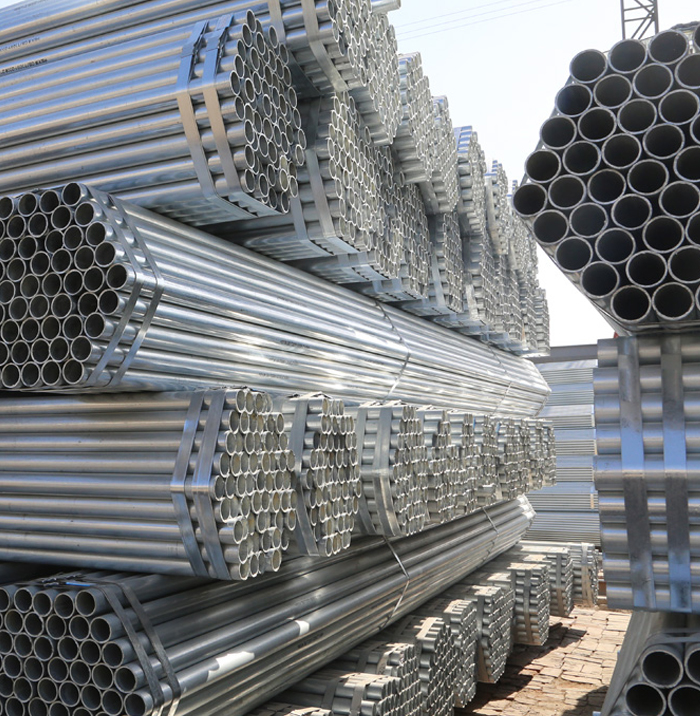 High Quality 2.2mm ASTM A53 hot-dip galvanized steel pipe