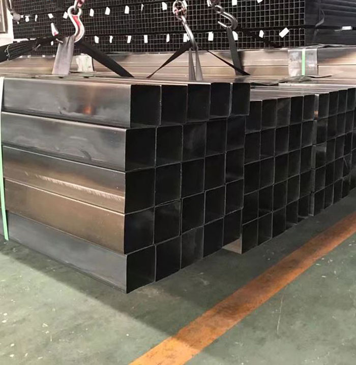 ERW mild steel/Hot rolled black welded square structural hollow section shape steel pipe/tube