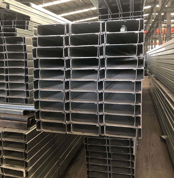 Building Materials Steel Channels Steel C Profile Purlins price