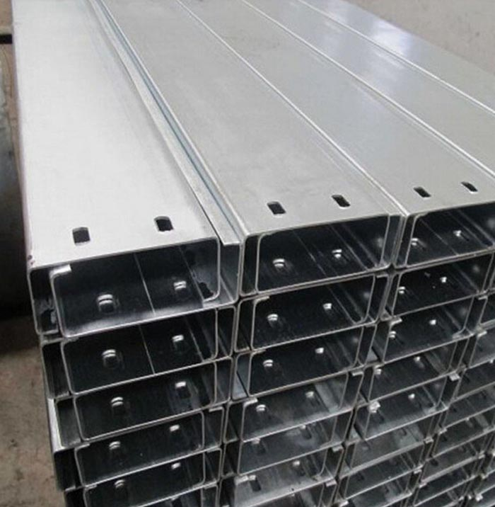 Factory Direct Export 1.5mm Thickness Galvanized Steel C Channel
