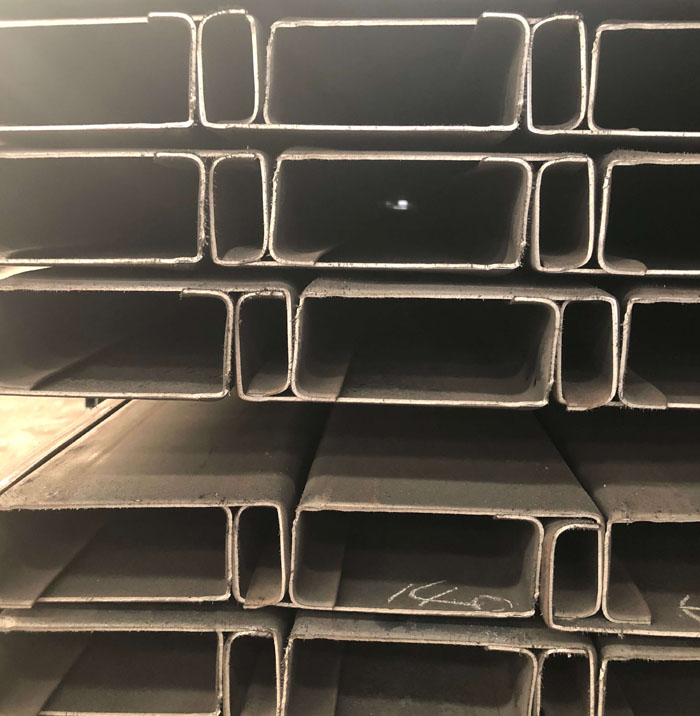 Hot sale online profiled steel structural C channel steel with good quality