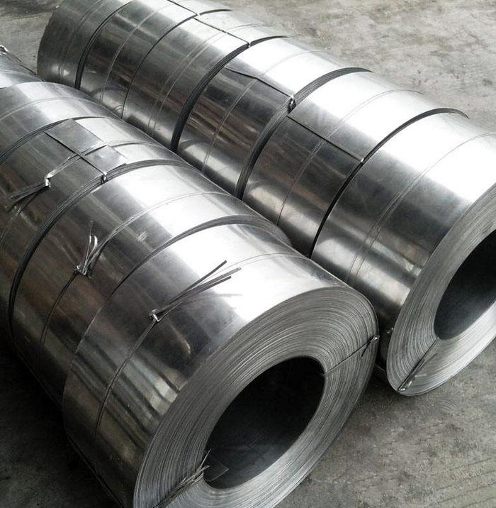 0.5x125mm galvanized steel strip coil Z40 for shutter doors